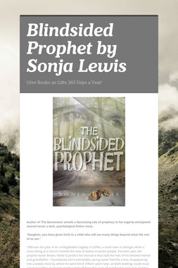 Blindsided Prophet by Sonja Lewis