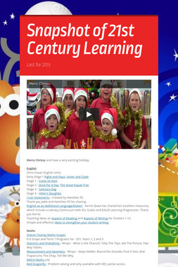 Snapshot of 21st Century Learning