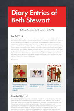 Diary Entries of Beth Stewart