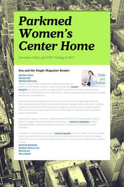 Parkmed Women's Center Home