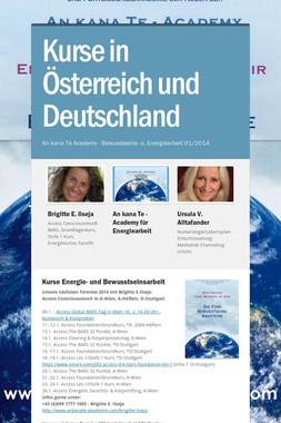 Kurse in Österreich und Deutschland
