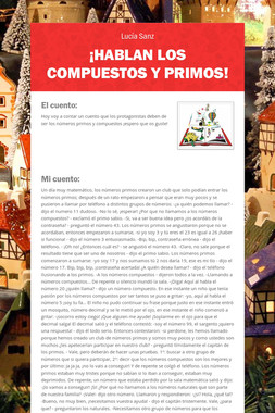 ¡HABLAN LOS COMPUESTOS Y PRIMOS!