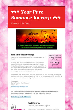 ♥♥♥ Your Pure Romance Journey ♥♥♥