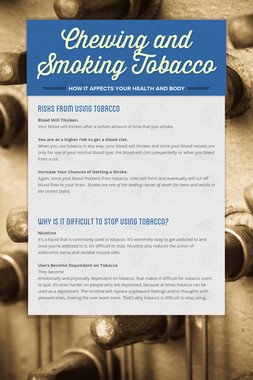 Chewing and Smoking Tobacco