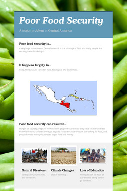 Poor Food Security