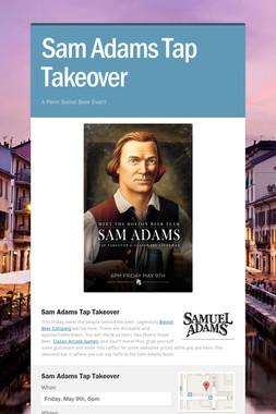 Sam Adams Tap Takeover
