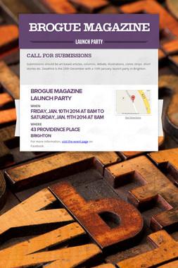 Brogue Magazine