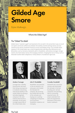 Gilded Age Smore
