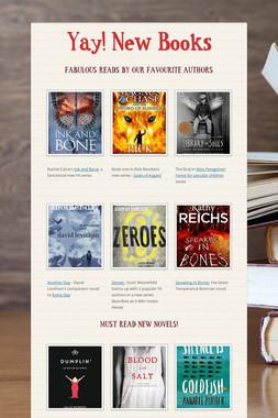 Yay!  New Books
