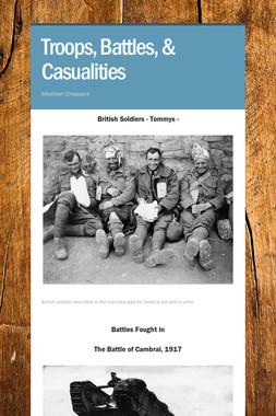 Troops, Battles, & Casualities