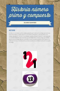 Historia número primo y compuesto