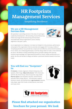 HR Footprints Management Services