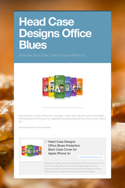 Head Case Designs Office Blues