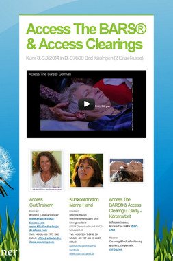 Access The BARS® & Access Clearings