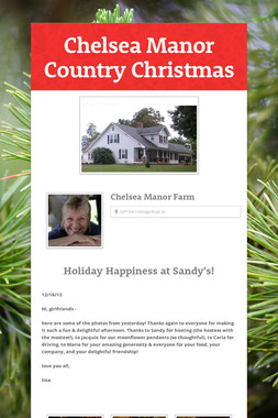 Chelsea Manor Country Christmas