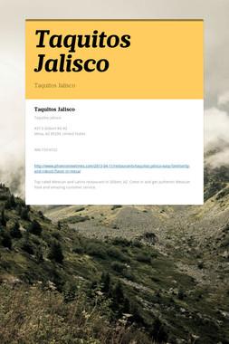 Taquitos Jalisco