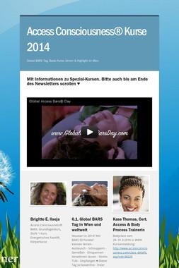 Access Consciousness® Kurse 2014
