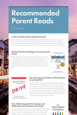 Recommended Parent Reads