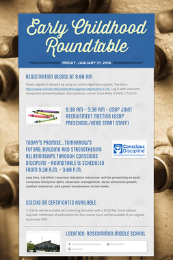 Early Childhood Roundtable