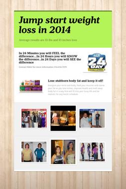 Jump start weight loss in 2014