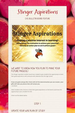 Stinger Aspirations