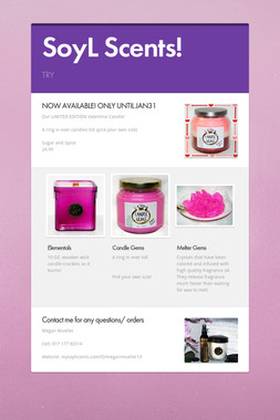 SoyL Scents!