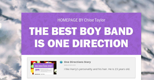 The Best Boy Band is One Direction