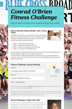 Conrad O'Brien Fitness Challenge