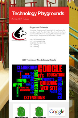 Technology Playgrounds