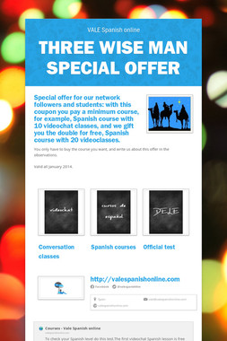 Three wise man special offer