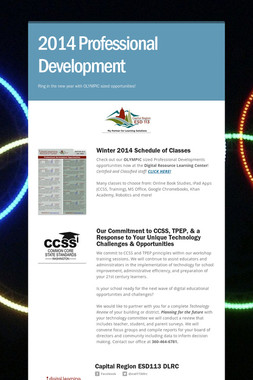 2014 Professional Development