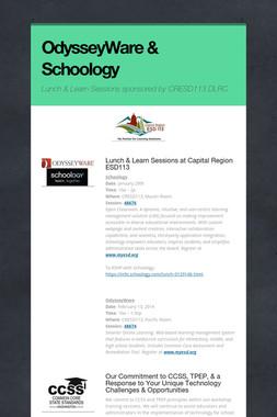OdysseyWare & Schoology
