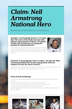 Claim: Neil Armstrong National Hero