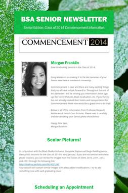 BSA Senior Newsletter