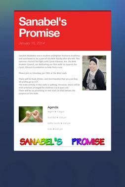 Sanabel's Promise