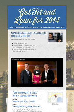 Get Fit and Lean for 2014