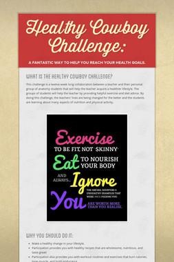 Healthy Cowboy Challenge: