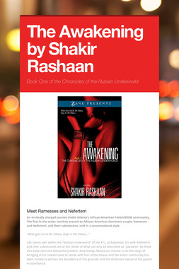 The Awakening by Shakir Rashaan
