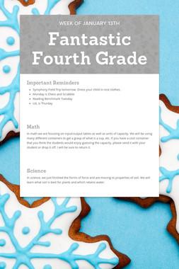Fantastic Fourth Grade