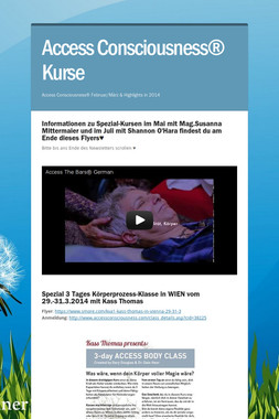 Access Consciousness® Kurse
