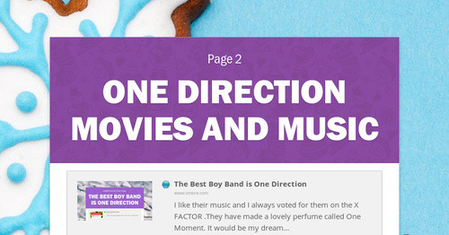 One Direction Movies and Music
