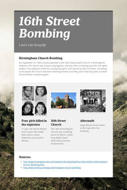16th Street Bombing