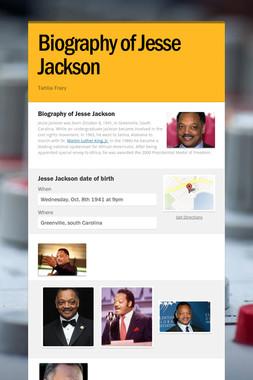 Biography of Jesse Jackson