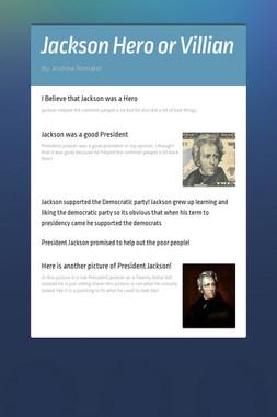 Jackson Hero or Villian