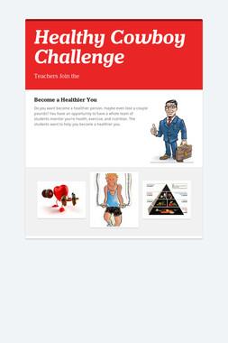 Healthy Cowboy Challenge
