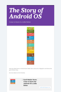 The Story of Android OS