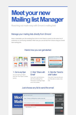 Meet your new Mailing list Manager