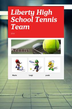 Liberty High School Tennis Team