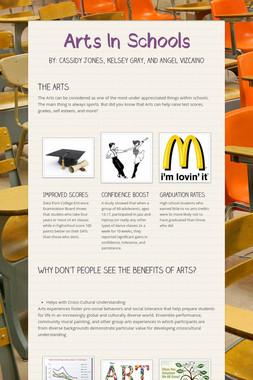 Arts In Schools