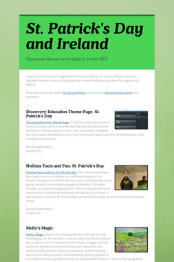 St. Patrick's Day and Ireland